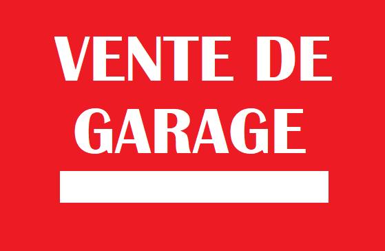 VENTES DE GARAGE